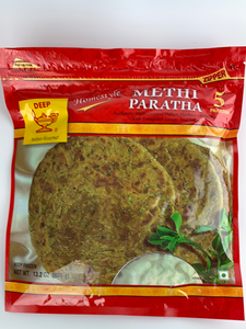 Deep Methi Parata