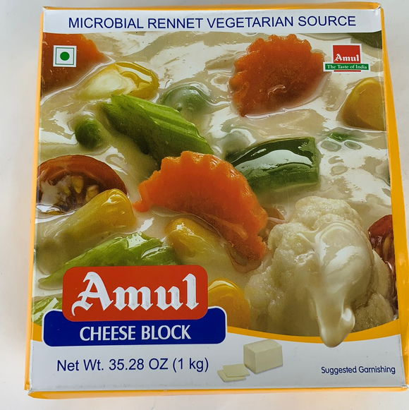 Amul Paneer Cheese Block 1 Kg