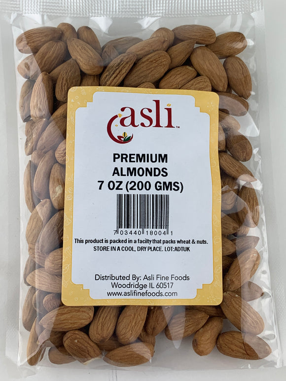 Asli Almonds 7 Oz
