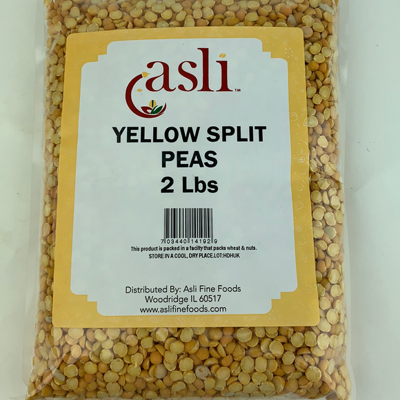 Laxmi Yellow Splitpeas 2Lb