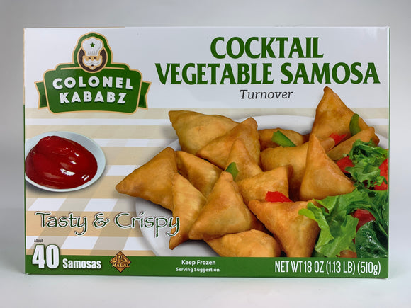 Colonel Vegetable Cocktail Samosa 585Gm 40Pc
