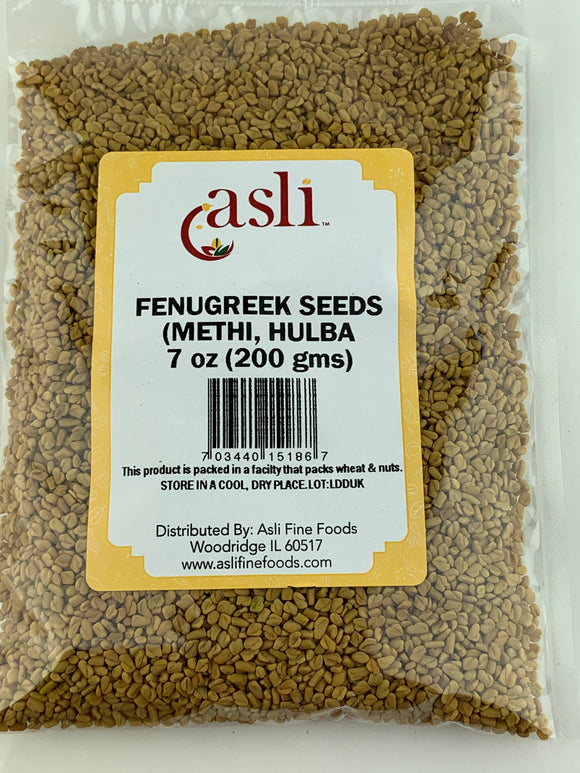 Asli Methi (Fenugreek) Seeds 7 Oz