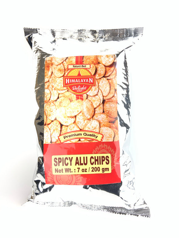 Himalayan Delight Spicy Aloo Chips 7oz