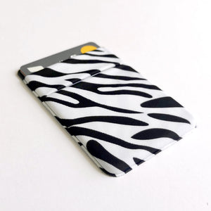 Zebra Card Holder