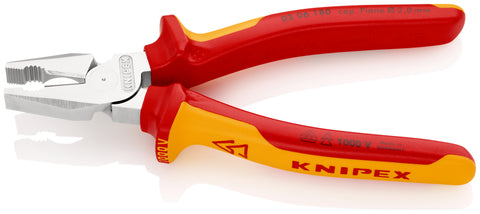 KNIPEX 02 06 180 High Leverage Combination Pliers