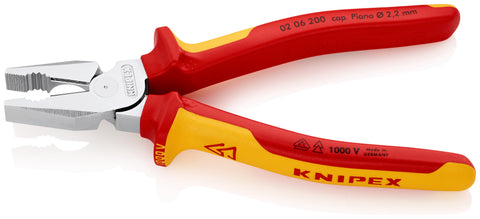 KNIPEX 02 06 200 High Leverage Combination Pliers