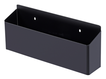 Empty toolbox S14 18 drawers black