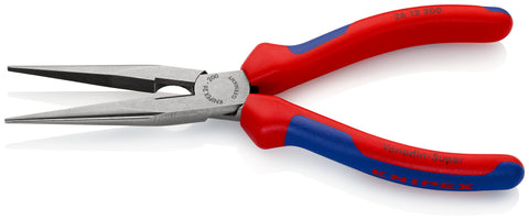 KNIPEX 26 12 200 SB Snipe Nose Side Cutting Pliers, (Stork Beak Pliers)