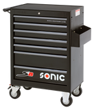 SONIC Equipment Filled toolbox S8 206pcs SFS (black)