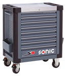 SONIC Equipment Filled toolbox S9 173pcs