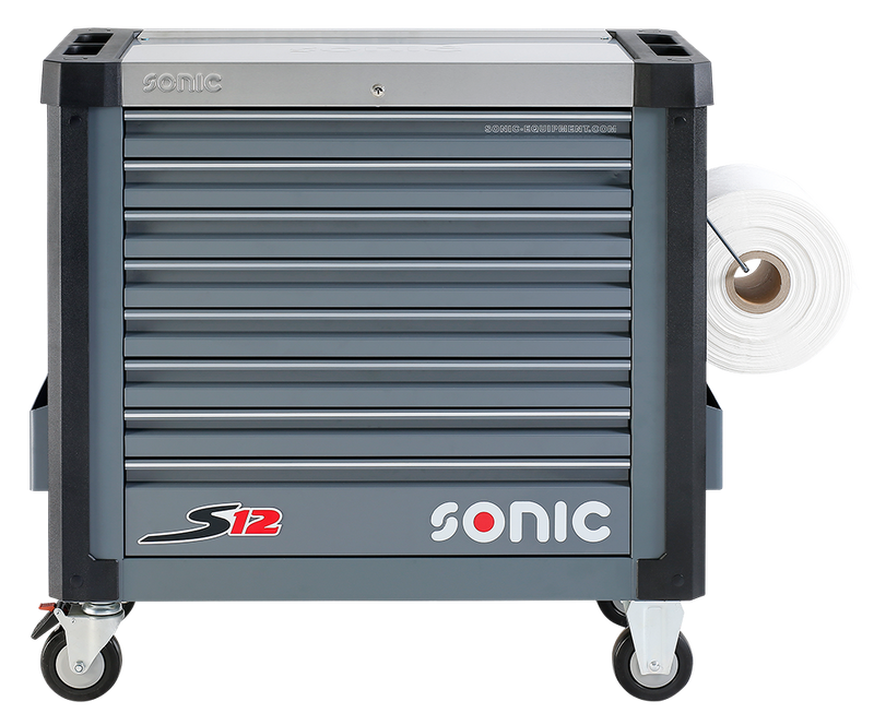SONIC Equipment Filled toolbox S12 644pcs SFS