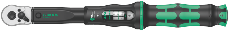 Click-Torque B 1 torque wrench with reversible ratchet
