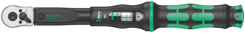 Click-Torque C 1 torque wrench with reversible ratchet