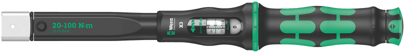 Click-Torque X 3 torque wrench for insert tools