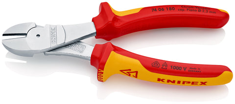 KNIPEX 74 06 180 High Leverage Diagonal Cutters