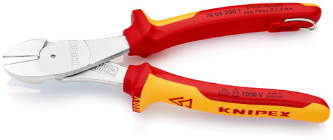 KNIPEX 74 06 200 T High Leverage Diagonal Cutters