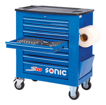 Filled toolbox S10 391pcs (blue)
