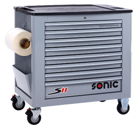 Filled toolbox S11 644pcs SFS (grey)