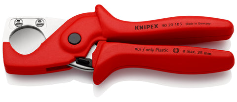 KNIPEX 90 20 185 PlastiCut®, Cutter for flexible hoses and plastic conduit pipes