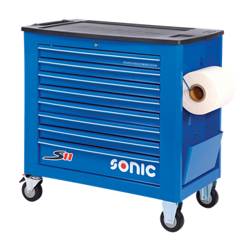 Filled toolbox S11 345pcs SFS (blue)