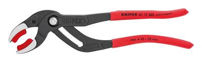 KNIPEX 81 11 250 Siphon and Connector Pliers, Siphon and Connector Pliers