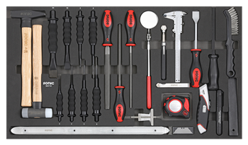 Filled toolbox S11 400pcs SFS (red)