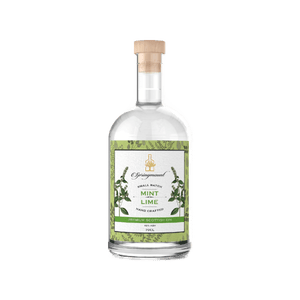 SPRINGMOUNT - MINT & LIME GIN (70cl, 40%).
