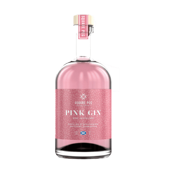 SQUARE PEG - PINK GIN (50cl, 40%)