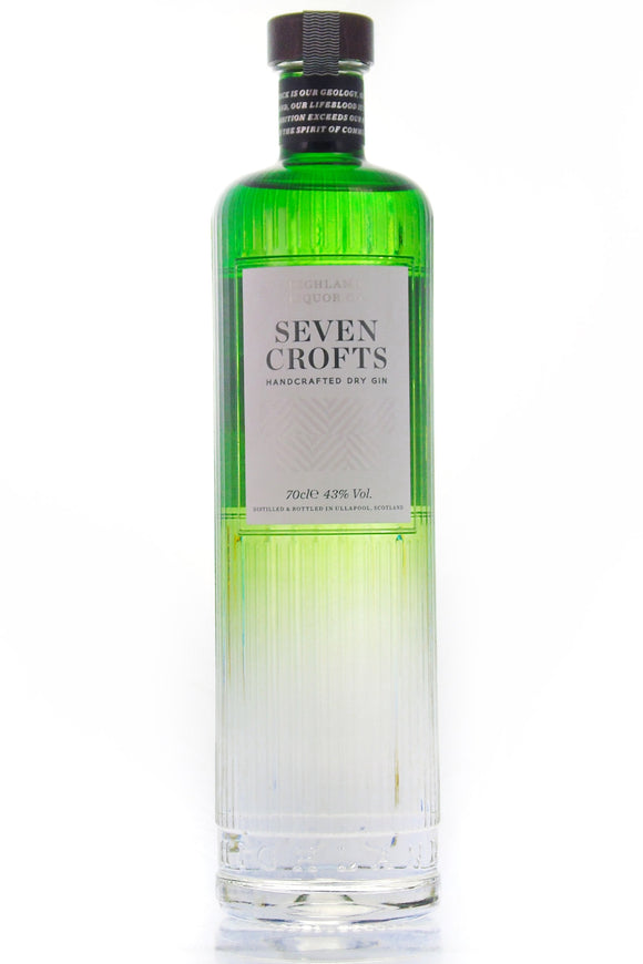 Seven Crofts (70cl, 43%).