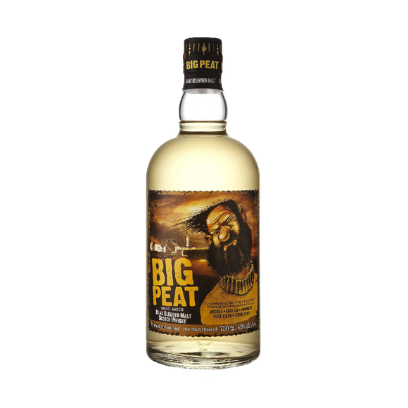 BIG PEAT - SMALL BATCH WHISKY (70cl, 46%).