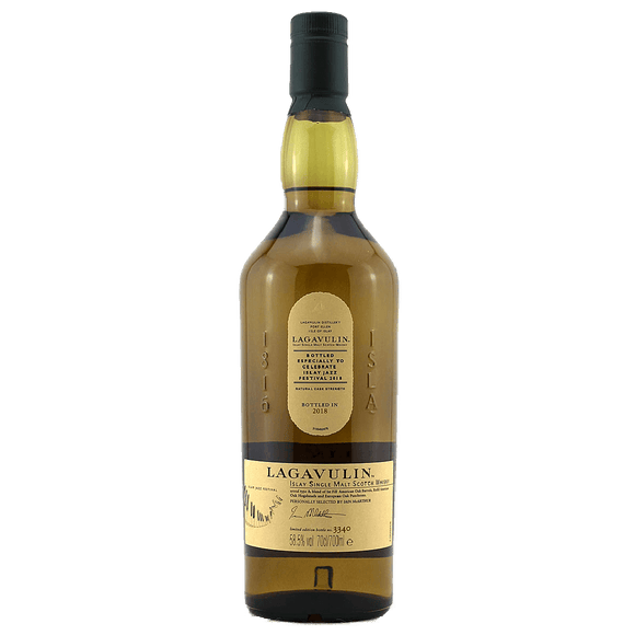 LAGAVULIN - ISLAY JAZZ FESTIVAL 2018 (70cl, 58.5%)