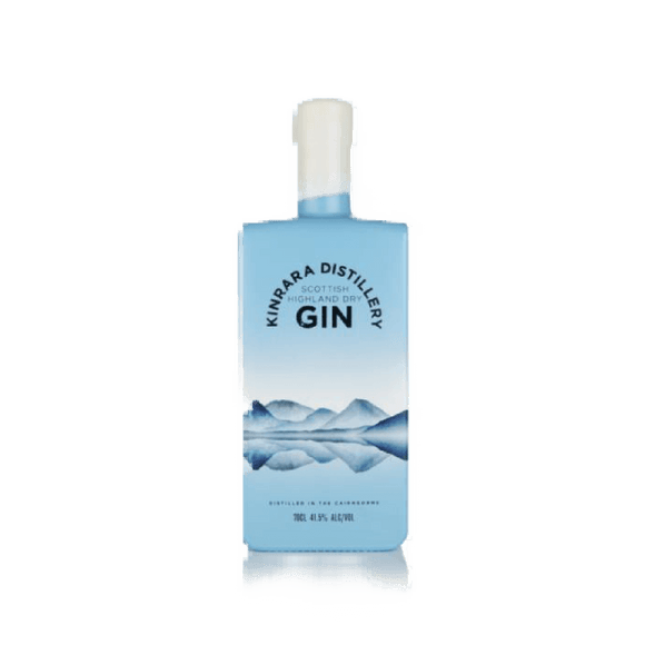 KINRARA - SCOTTISH HIGHLAND DRY GIN (70cl, 41.5%).