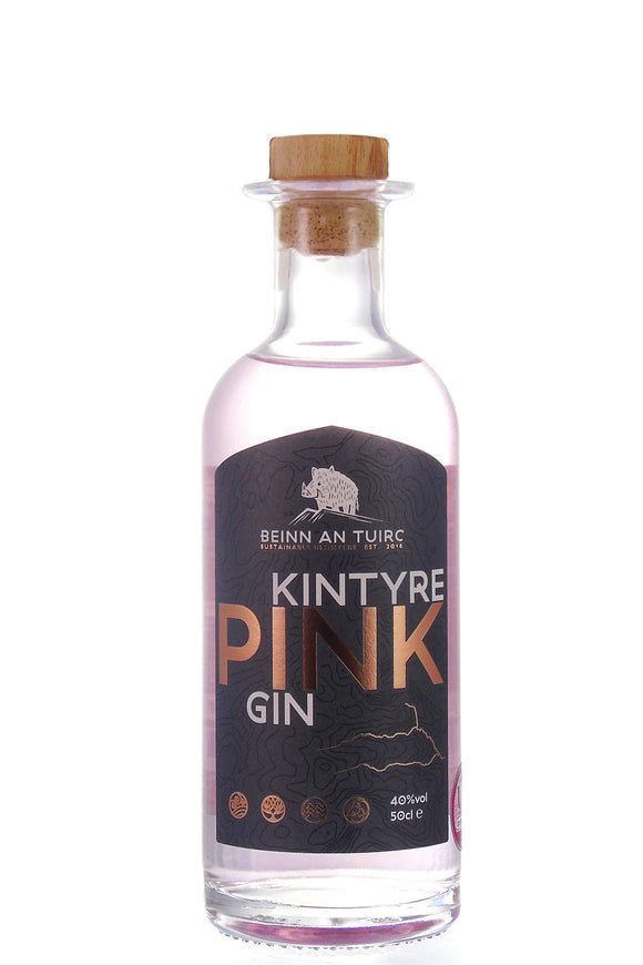 Kintyre - Pink Gin (50cl, 40%)