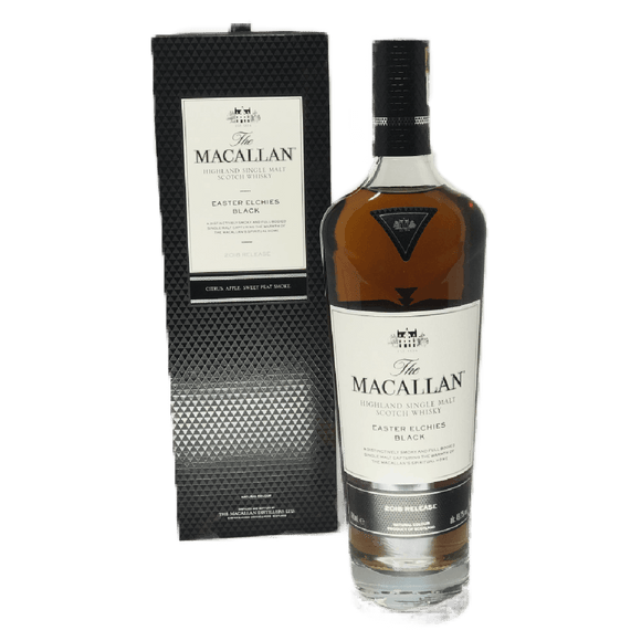 THE MACALLAN - EASTER ELCHIES BLACK 2018 (70cl, 49.2%).