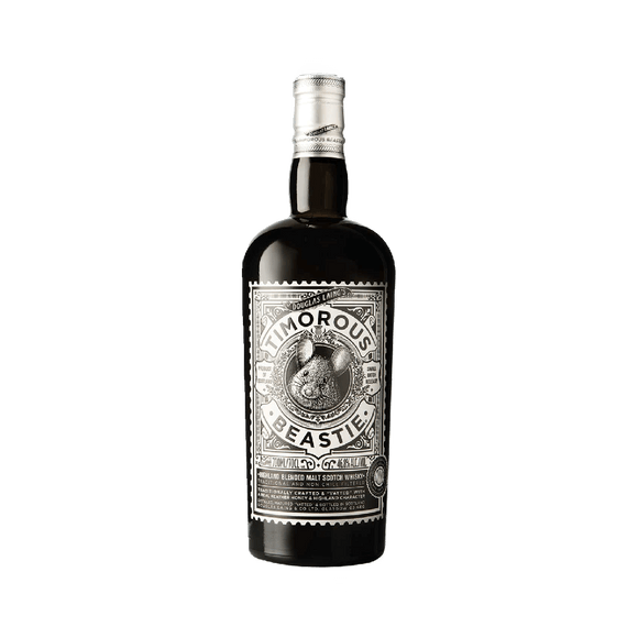 TIMOROUS BEASTIE - SMALL BATCH WHISKY (70cl, 46.8%).