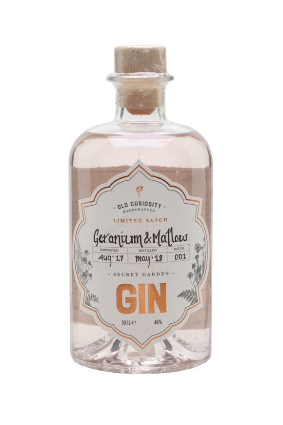 Old Curiosity - Ltd Edn Geranium and Mallow (50cl, 46%).