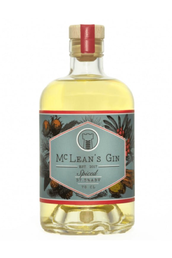 McLean's - Spiced Gin (70cl, 37.5%).