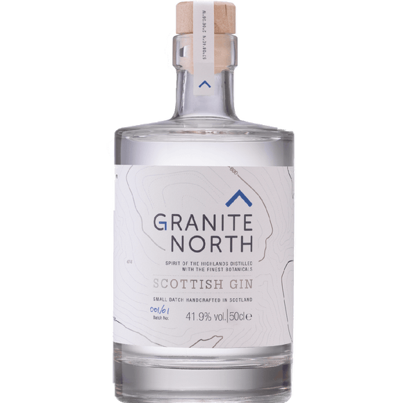 GRANITE NORTH - SCOTTISH GIN (50cl, 41.9%).