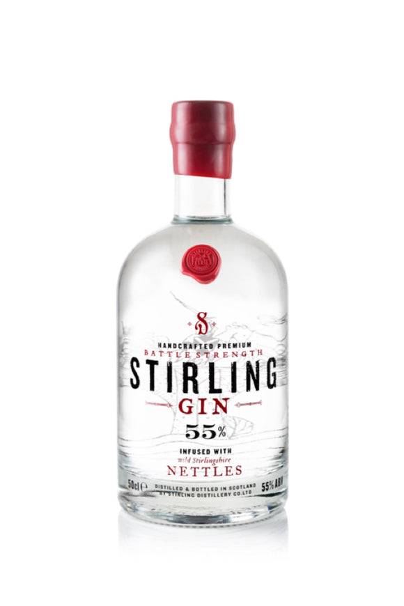 Stirling Gin - Battle Strength (70cl, 55%).