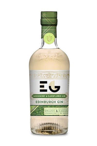 Edinburgh Gin - Gooseberry & Elderflower (70cl, 40%).