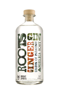 Bright Spirits - Roots Gin (70cl, 40%).