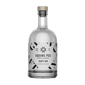 SQUARE PEG - CRAFT GIN (50cl, 40%).