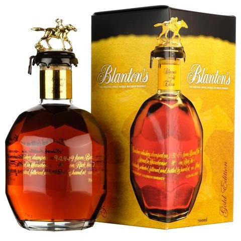 Blanton's Gold Edition (70cl, 51.5%).