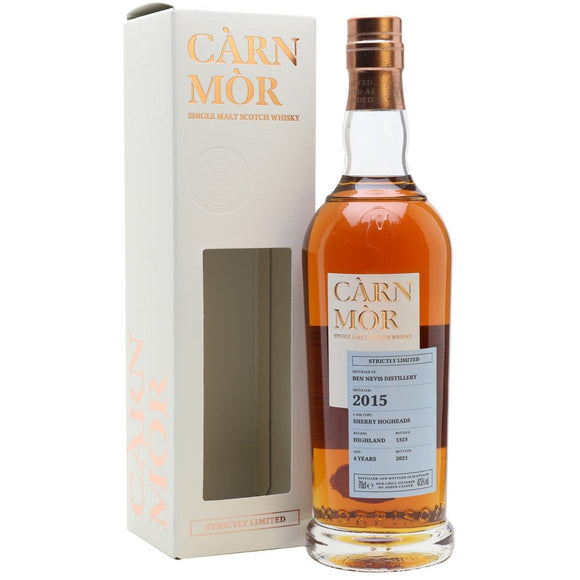 Ben Nevis 2015 Carn Mor 6 Year Old (70cl, 47.5%).