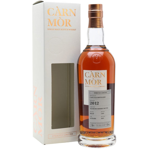 Caol Ila 2012 Carn Mor 8 Year Old (70cl, 47.5%).