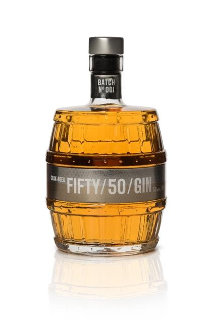 Fifty/50 Aged Gin (50cl, 50%).