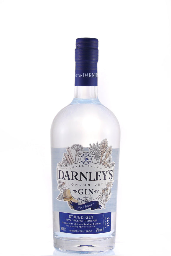 Darnley's Spiced Navy Strength Gin (70cl, 57%).