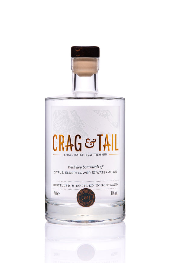 Crag & Tail Gin (70cl, 41%).