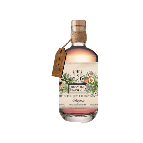 GARDEN SHED - BRAMBLE PEACH - (50cl, 40%).
