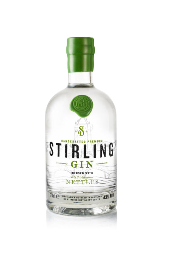 Stirling Gin (70cl, 43%).